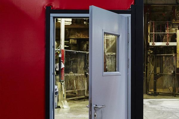 & Personnel Steel Security Fire Exit Doors Liverpool Roller Shutters